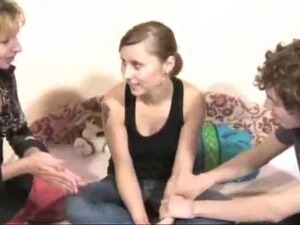 Brunette from Homemade College Russian Orgy vid 1 free