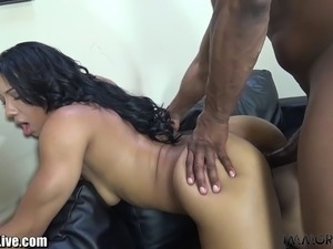 Watch a real sexy & tall muscular black girl getting fuck by Prince Yahshua's...