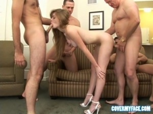free girl bukkake videos