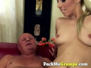 Grandpa and young sex