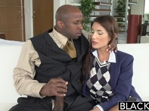 wife gives black man handjob