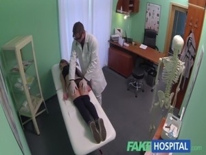 FakeHospital Hot 20s gymnast seduced by doctor and given creampie free