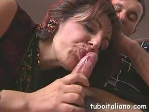 italian anal mature women