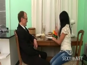 anal sex kitchen counter