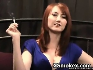 mature smoking sex stepmom