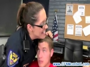 slutty female police officers suck dick