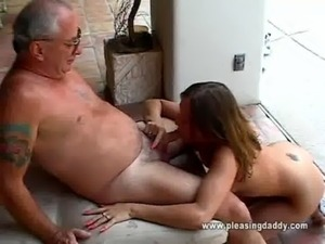 uncle sucks girls pussy