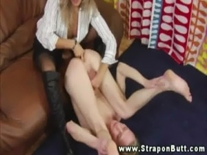 strapon fucked by wife videos