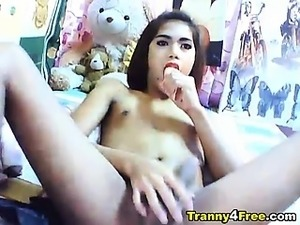 asian ladyboy masturbation movies