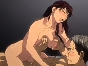 Incredible big tits anime clip with uncensored group,