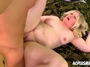 sexe black blonde