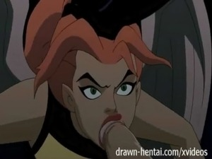 Justice League Hentai - Two chicks for Batman dick free