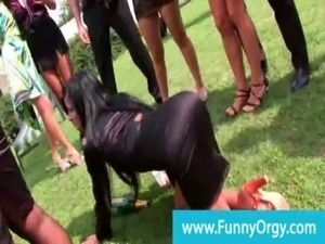 Posh bday party goes orgy at the mansion free