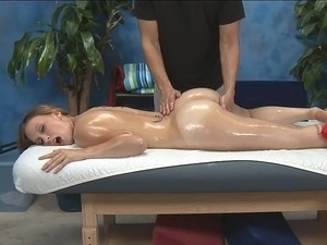 amateur video wife massaging husband