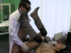doctor cock pussy boobs