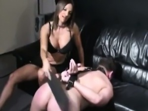 bdsm interracial black man blonde