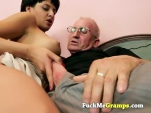 old man young girl fucking