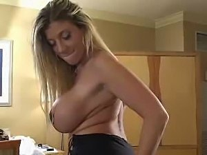 shaved wet pussy and pierced tits