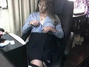 glamour granny stocking pics