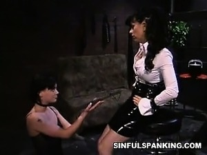 lesbians spanking and ass fucking