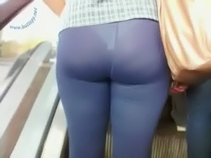 Shit this lycra butt sex cycle WUD TAP DAT