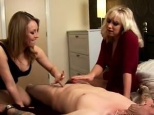 amateur cfnm handjob video