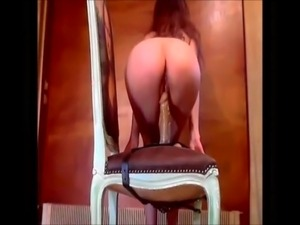 bent over chair pussy