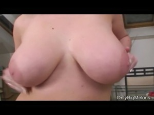 Teen busty strip