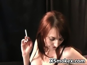 naked girls smoking pot