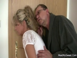 young girl blowjob grandpa video