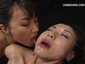 pretty asian lesbian videos