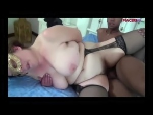 Amateur Italian - Fat mature fucked by black - interracial free