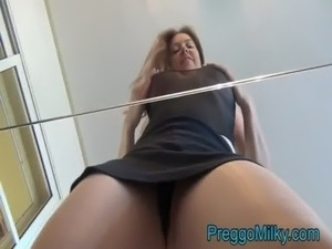 licks milk from tits video