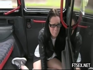 video blonde gorgeous public train convince