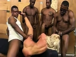 blonde girl getting fucked hard