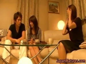 japanese boy fingering mom video