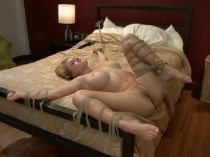 tied wife orgasm