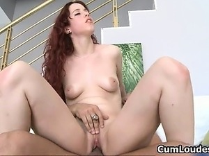 Sexy redhead babe gets horny having oral part3