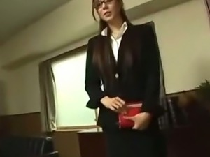 asian secretary groping videos