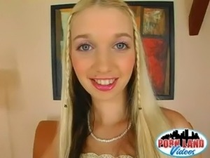 beautiful blonde teen loves fucking and sucking a big cock free