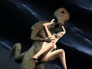 girls ass probed by aliens