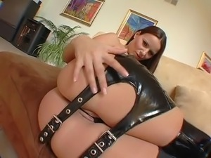 leather skirt tight tits movies