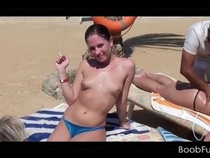 topless blacks beach