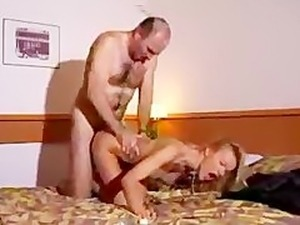French Mature Couple Fucking In Hotel Room