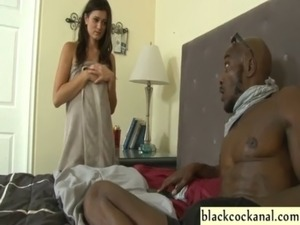 husband and wife sucking black cock