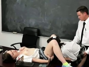 big tits school sex