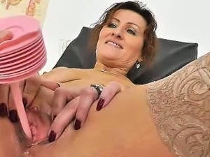 foot on pussy