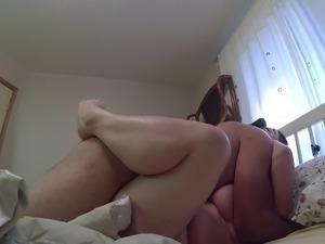 big ass sleeping hairy pussy