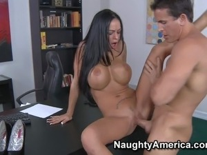 secretary glamour sex video