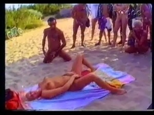 swingers beach party orgy